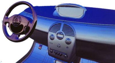 Photo de la Renault Modus: Conception