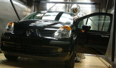 Photo de la Renault Modus: Montage en usine